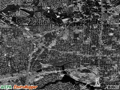 West Pensacola satellite photo by USGS