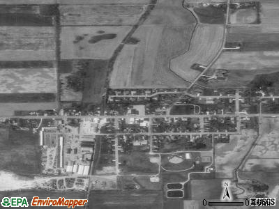 Brownsville satellite photo by USGS