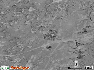 Shonto satellite photo by USGS