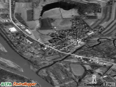 Wyalusing satellite photo by USGS