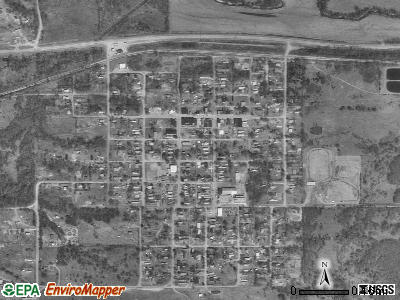 Depew satellite photo by USGS