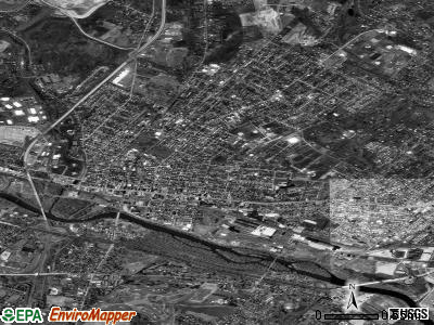 Pottstown satellite photo by USGS