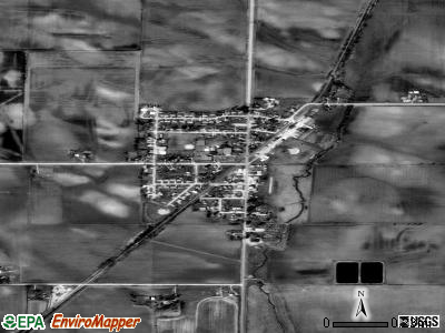 Alburnett satellite photo by USGS
