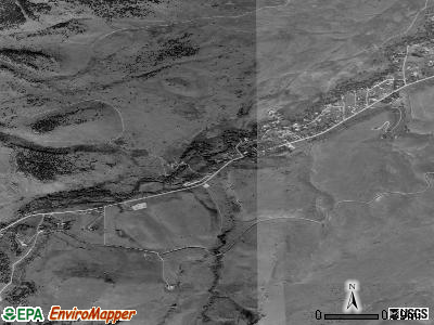 Eldorado Springs satellite photo by USGS