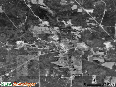 State Line satellite photo by USGS