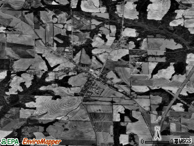 Newville satellite photo by USGS