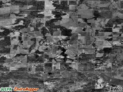 New Chapel Hill satellite photo by USGS
