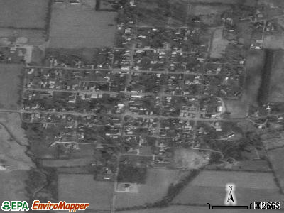 Christiansburg satellite photo by USGS