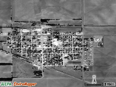 Norwich satellite photo by USGS