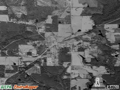 Laurel Hill satellite photo by USGS