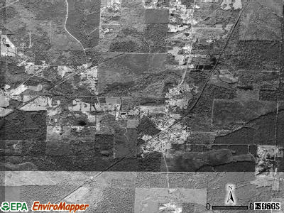 Traskwood satellite photo by USGS