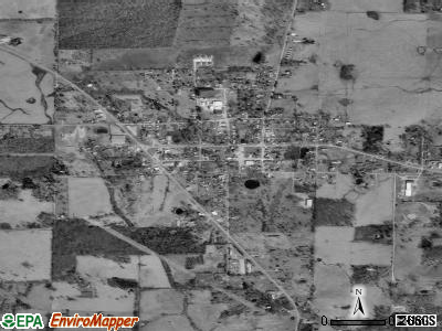 Summersville satellite photo by USGS