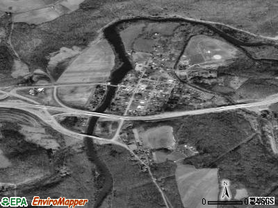 Friendsville satellite photo by USGS