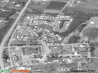 Adair Village satellite photo by USGS