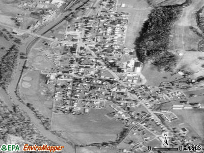 Laurelville satellite photo by USGS
