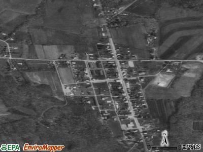 Franklintown satellite photo by USGS