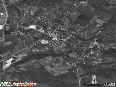 Fordsville satellite photo by USGS