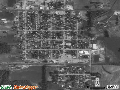 Kensington satellite photo by USGS