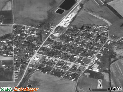 Allendale satellite photo by USGS