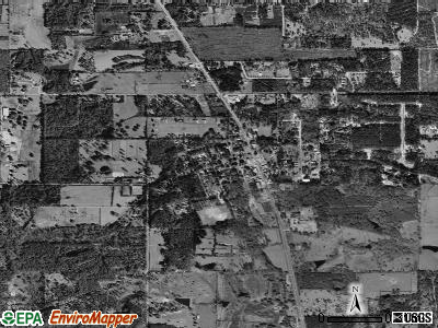 Folsom satellite photo by USGS