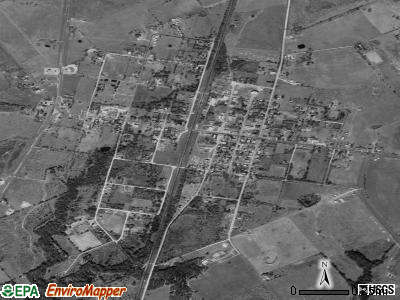 Thornton satellite photo by USGS
