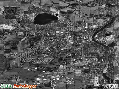 McHenry satellite photo by USGS