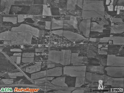 Kirkersville satellite photo by USGS