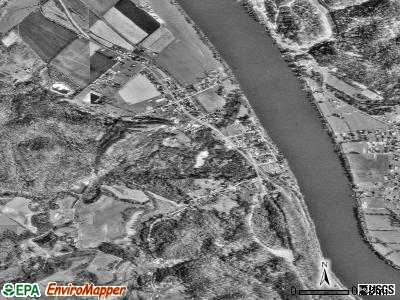 Hartford City satellite photo by USGS