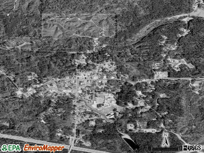 Meadville satellite photo by USGS