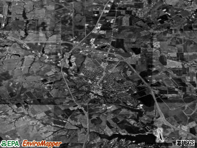 Waxahachie satellite photo by USGS