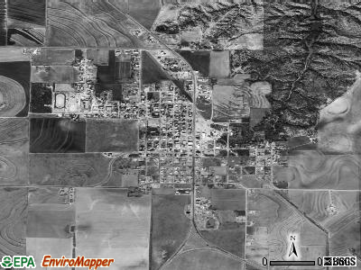 Jayton satellite photo by USGS
