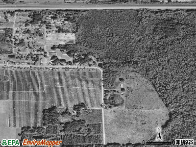 Tildenville satellite photo by USGS