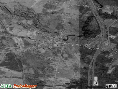 Parish satellite photo by USGS