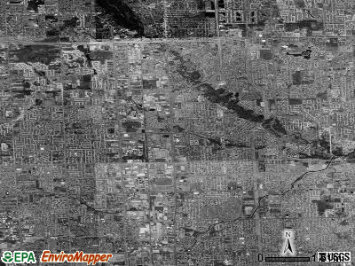 Sterling Heights satellite photo by USGS