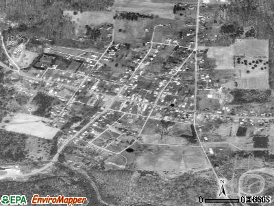Shippenville satellite photo by USGS