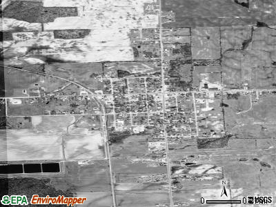 Carsonville satellite photo by USGS