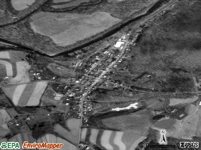 Orangeville satellite photo by USGS