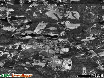 Gilbert satellite photo by USGS