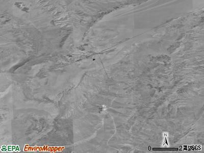 Gerlach-Empire satellite photo by USGS