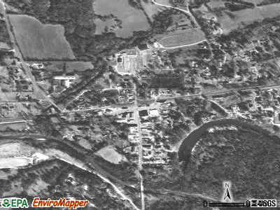 North Carrollton satellite photo by USGS