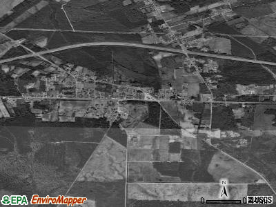 Bolton satellite photo by USGS