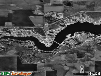 Buffalo Springs satellite photo by USGS