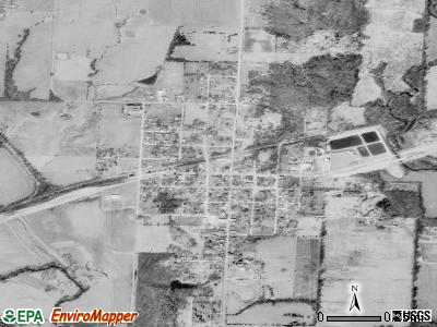 Calhoun satellite photo by USGS
