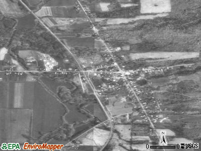 Springboro satellite photo by USGS