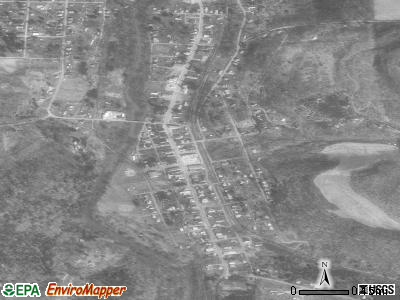 Coalport satellite photo by USGS