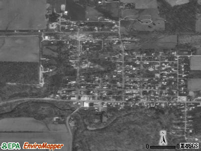Hillsboro satellite photo by USGS