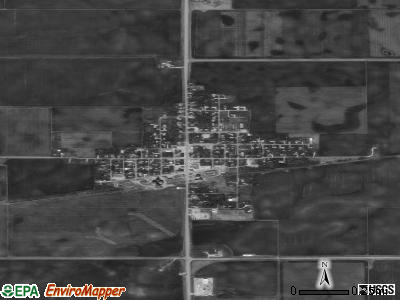Stanhope satellite photo by USGS