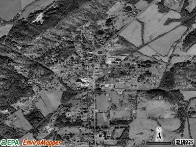 Menlo satellite photo by USGS