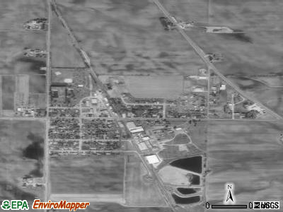 Arlington satellite photo by USGS
