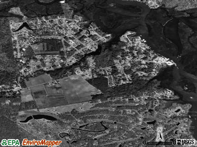 Varnamtown satellite photo by USGS